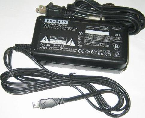 Sony Handycam DCR-TRV460 Camcorder power supply AC adapter cable cord charger